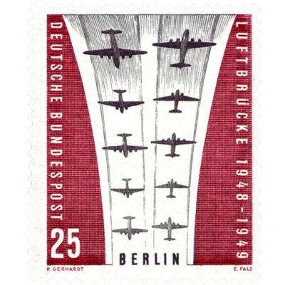 postimerkki Berliinin ilmasillasta