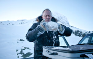 Stellan Skarsgård on lumiauramies