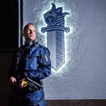 Oulun poliisitalon sisäilma sairastutti 150 poliisia. Tero Väyrynen on yksi heistä.