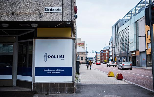 Poliisi on joutunut muuttamaan Oulun keskustaan