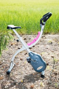 Kuntopyörä teki laihduttajasta liikunnan ystävän.