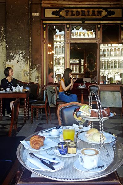 Vuonna 1720 perustettu Caffè Florian
