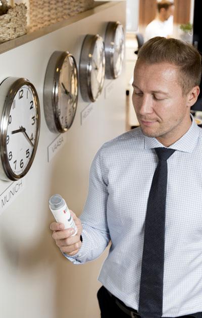 Biotherm Homme Aquapower -kosteusvoide on yksi Jesper Nybergin lempituotteista.