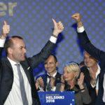 EPP:n kärkiehdokkaan vaalit käytiin Helsingissä säyseissä tunnelmissa.