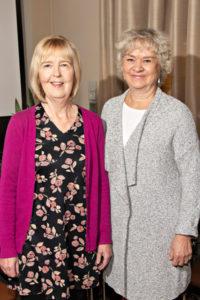 Leena Uotila ja Marja Packalén