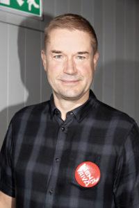 Juontaja Marco Bjurström