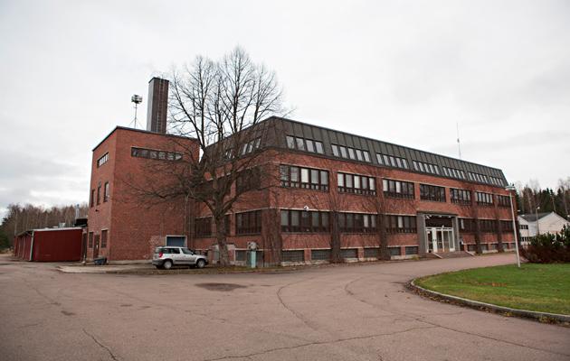 Sirkkatehdas pystytettiin Strömforsin ruukin alueella sijaitsevaan yrityskeskukseen
