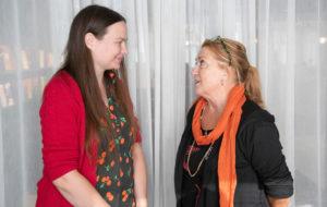 Anja Snellman ja Hertta-Mari Kaukonen
