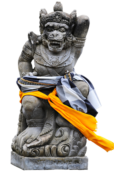 Mytologiahahmoa kuvaava patsas