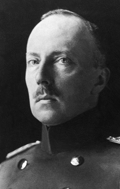 Hessenin prinssi Friedrich Karl, josta piti tulla Suomen kuningas.