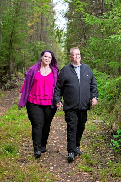 Aki ja Heli Palsanmäki