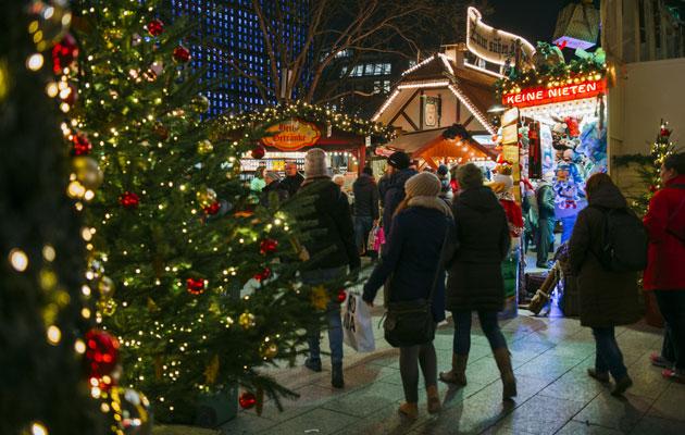 Berliinissä on yhteensä yli 60 joulumarkkinat eri puolilla kaupunkia.