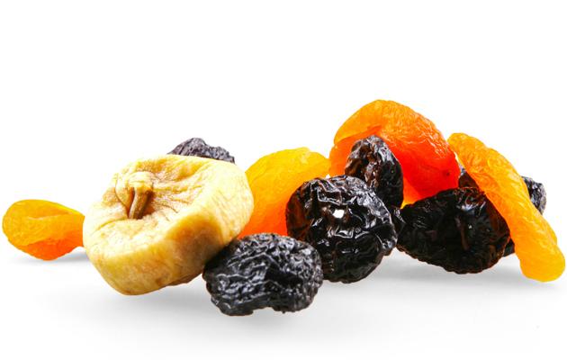 Kuivatut hedelmät