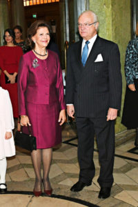 kuningatar Silvia ja kuningas Kaarle Kustaa