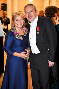 J. Karjalainen ja Kati Bergman