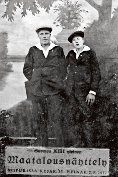 Matti ja hänen veljensä Armas Paksu