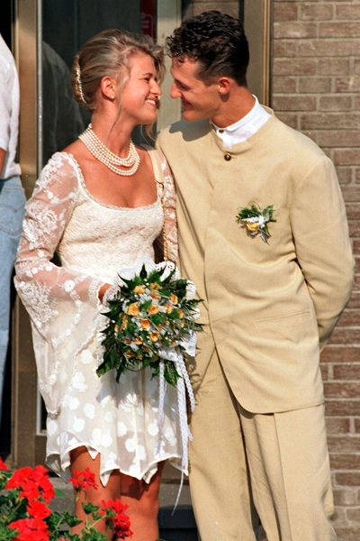 Michael Schumacher ja Corinna Betcsh