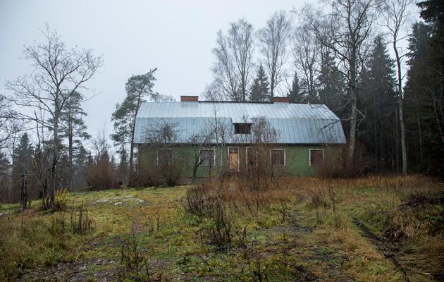 Isän vuokra-aunto sijaitsi Kauklahdessa, Espoossa