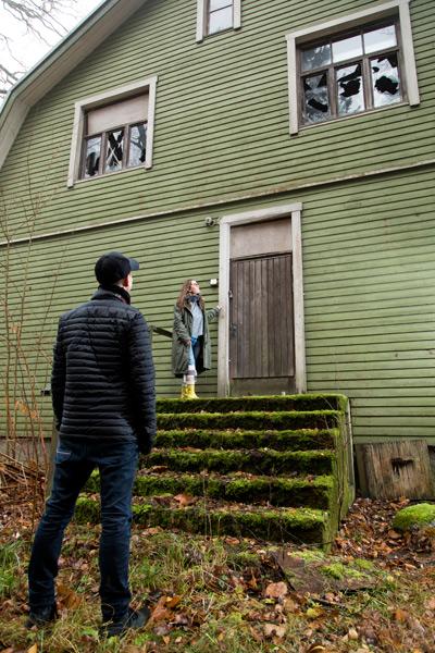 Urbaanit löytöretkeilijät eivät murtaudu taloihin.