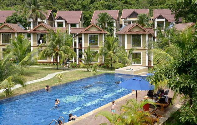 Coral Redang Island