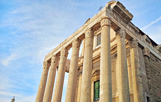 Antoninuksen ja Faustinan temppeli