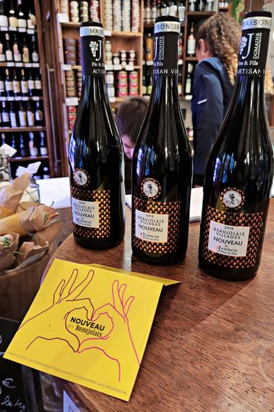 Viini, beaujolais noveau'ta