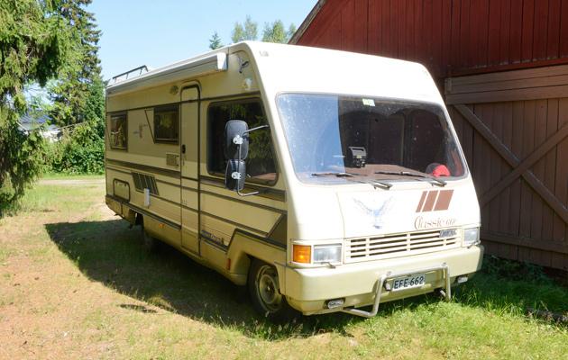 Saila Heino, matkailuauto