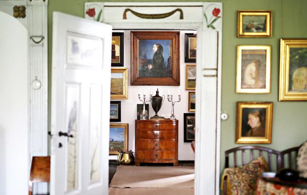 Michael ja Anna Ancherin rennon boheemi taiteilijakoti