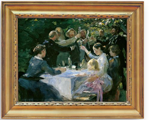 "Peder Krøyerin teoksessa ""Hip hip hurra"""