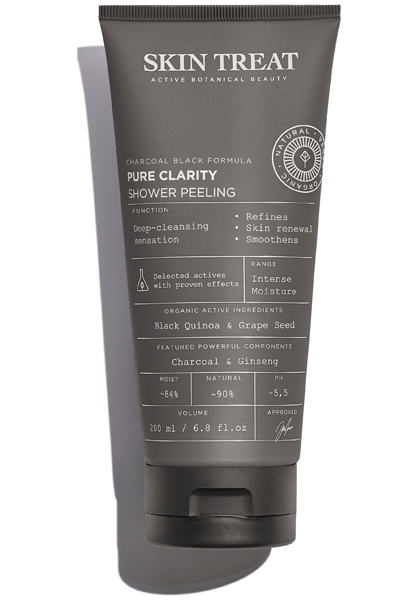 Skin Treat, pure clarity shower peeling