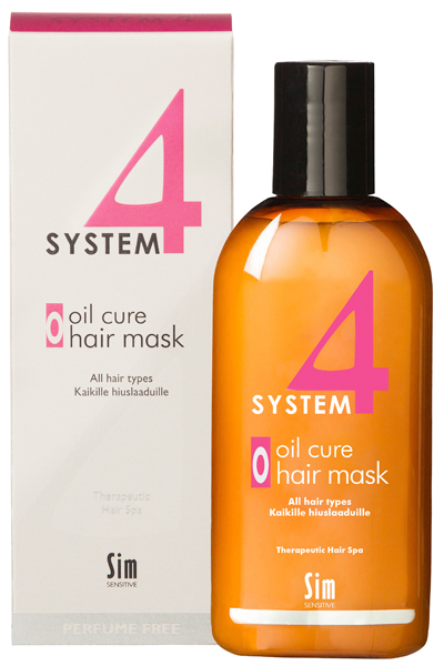 System 4 oil cure hair mask