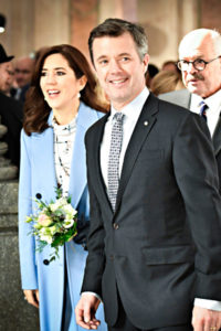 Tanskan kruununprinssi Frederik ja kruununprinsessa Mary