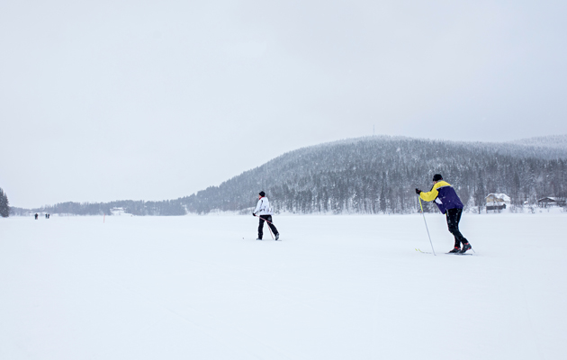 Kirsti Koskinen ja Aslak Erävuoma