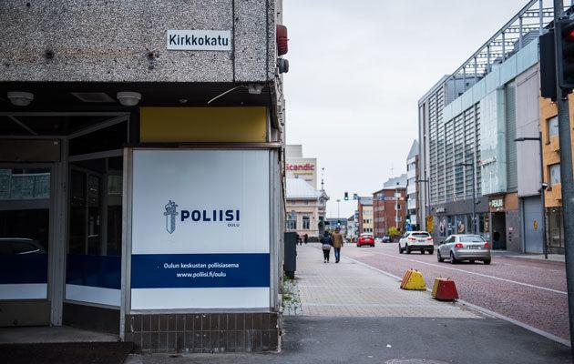 Oulun poliistalossa on ollut sisäilmaongelmia.