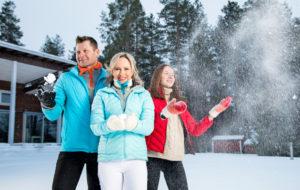Talvi on Roposten perheessä kiireistä aikaa