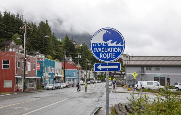 Tsunamin iskiessa Kanadaan mitattiin yksittäisen aallon korkeudeksi lähes 160 metriä.
