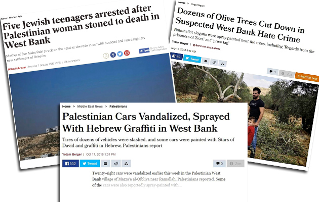 Uutisotsikoita Israelista viime syksyltä