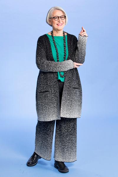Anneli Halme, tyyli 1: Kokonaan väljää
