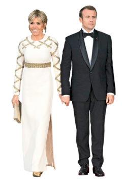 Emmanuel ja Bigritte Macron