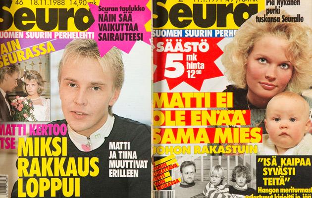 Matti Nykänen , Seura-lehti