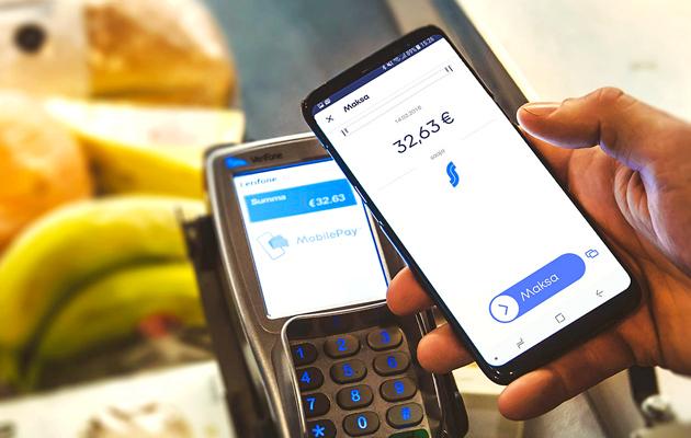 Maksaminen kännykällä yleistyy