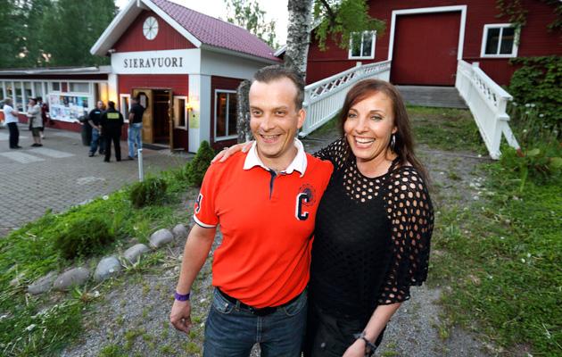 Teemu Kiskonen ja Pia Matikainen