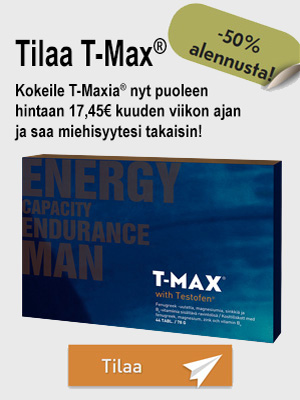Tilaa  -50%T-Max