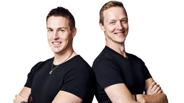 veljekset Jupe (kuvassa vas.)ja Marko Keskitalo (oik.)