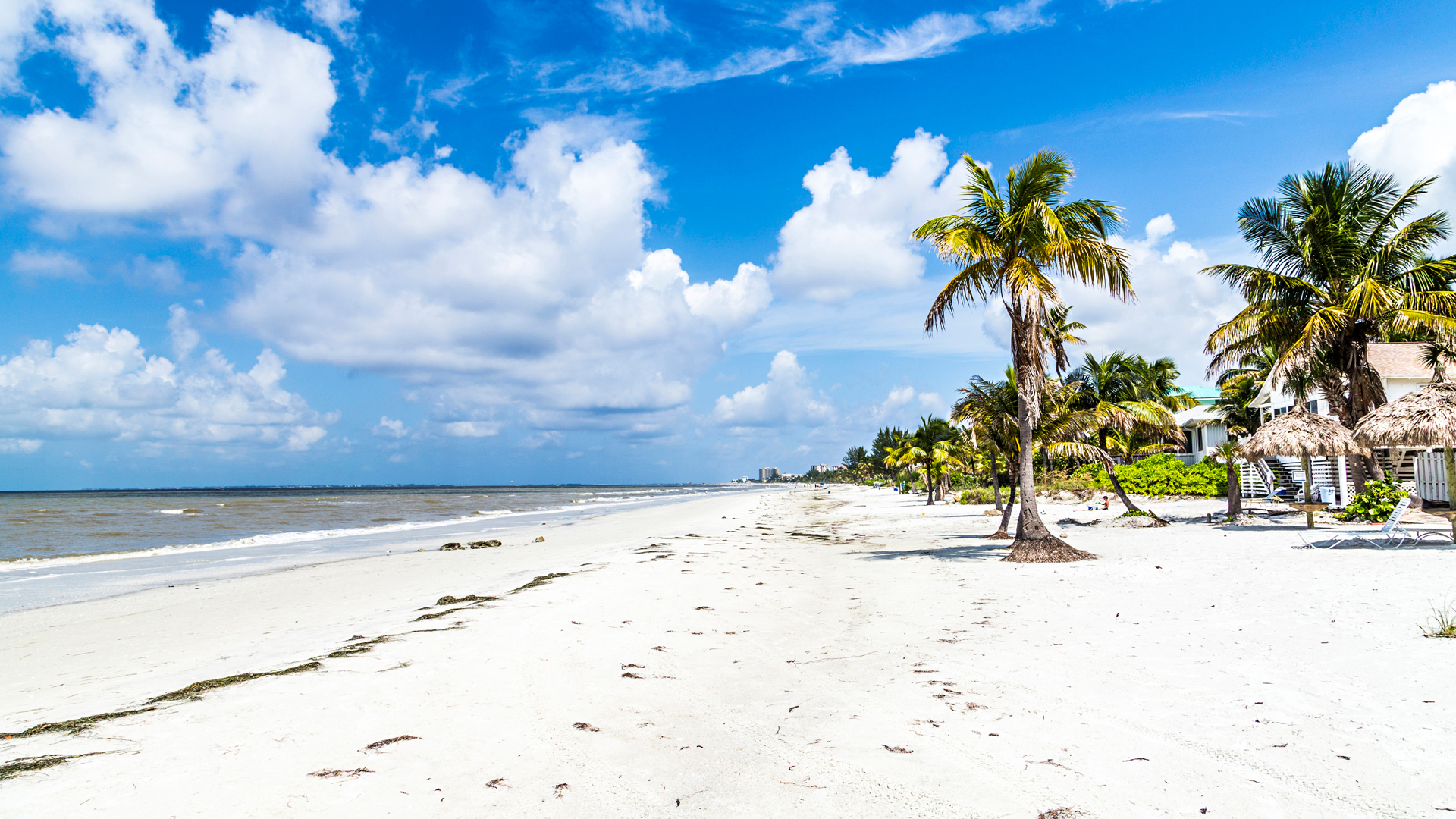 Floridan Fort Myersin rannat