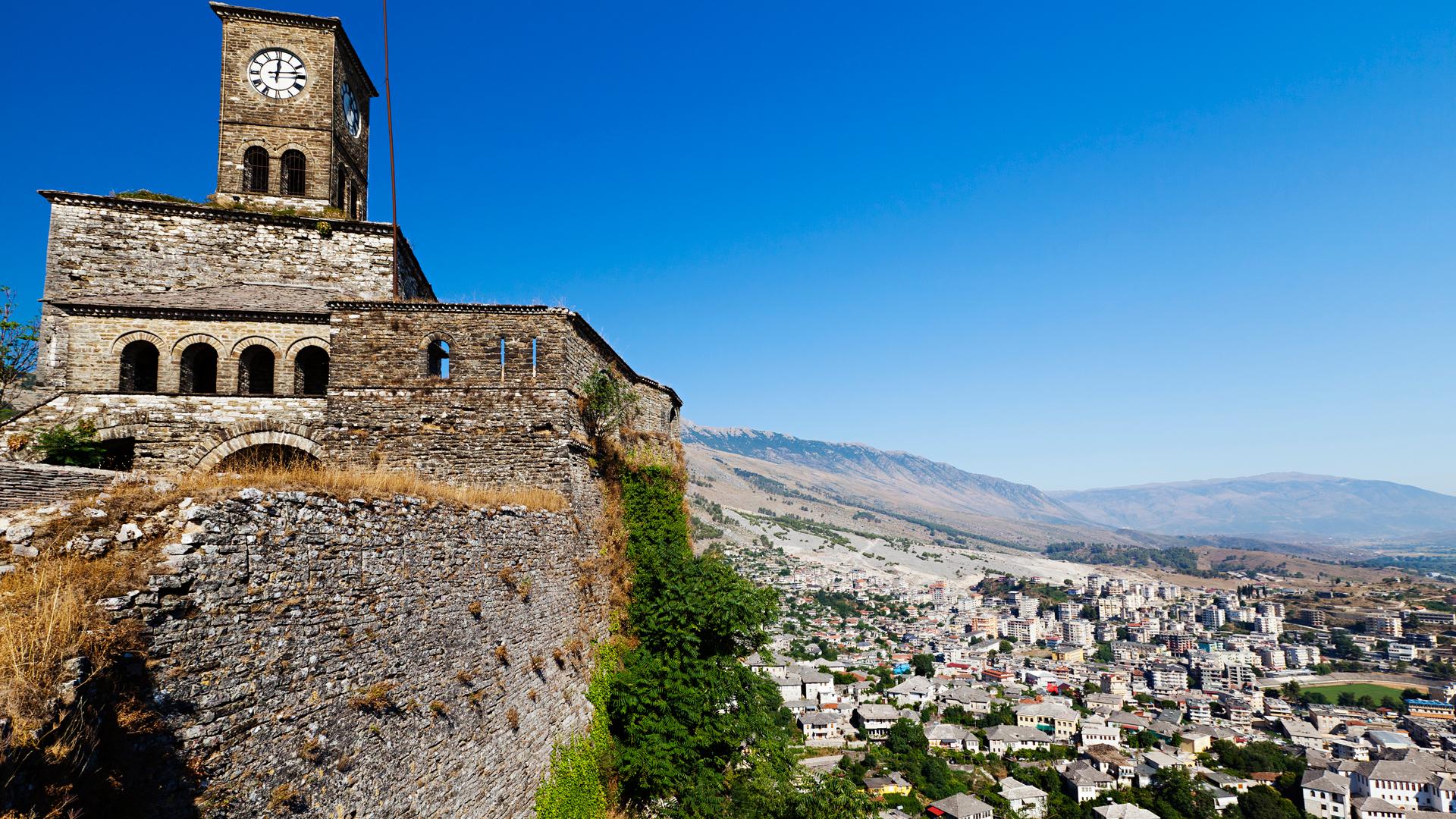 Gjirokastërin vanha keskusta
