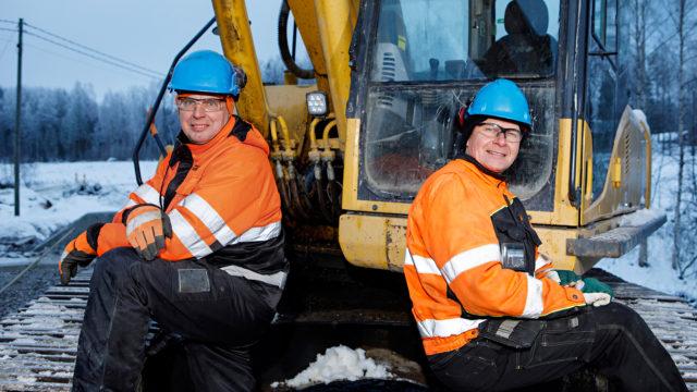 Markku Saukko ja Timo Hyppönen