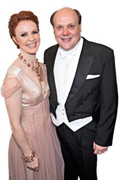 Hannu-Pekka Björkman ja Minna Haapkylä