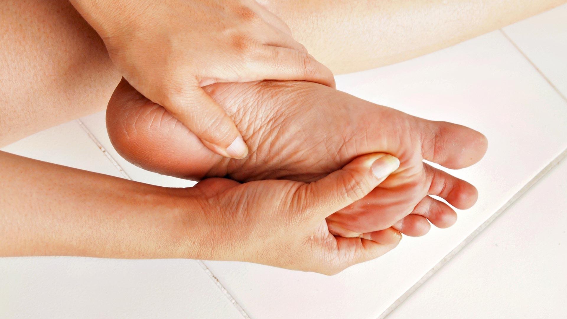 Jalkojen hoitaminen diabetes