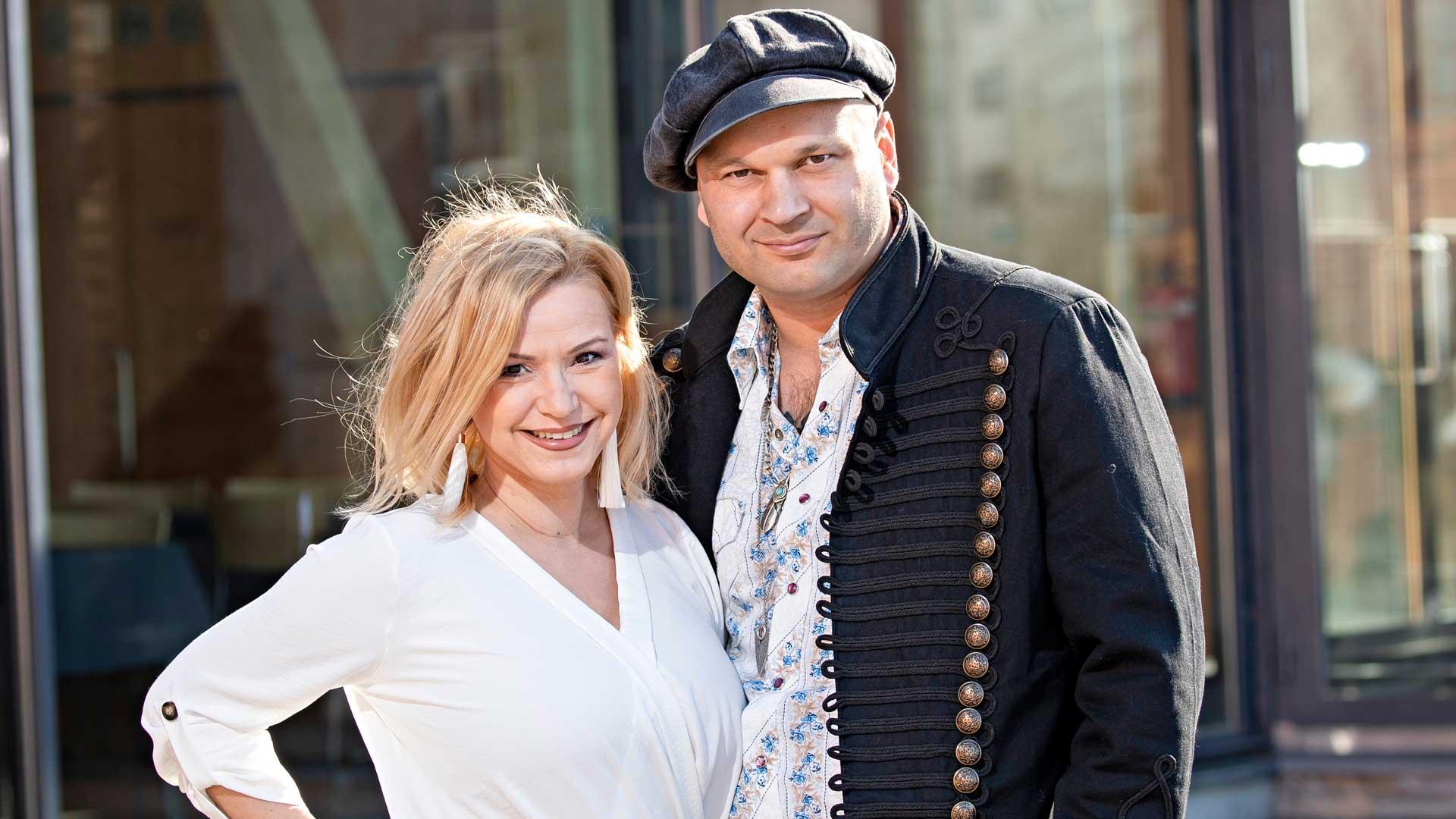 Katja Lukin-Keiski ja Dimitri Keiski